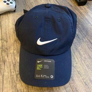 "Navy Nike Heritage86 Dri Fit ""Dad Hat"""